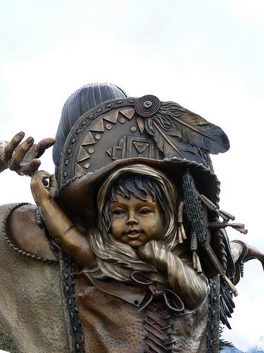 "Sacagawea's son Jean Baptiste Charbonneau, or ""Pompy,"""