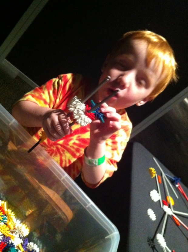 My favorite was watching Max build. But that's just because I'm his mom. I love when this look comes out.