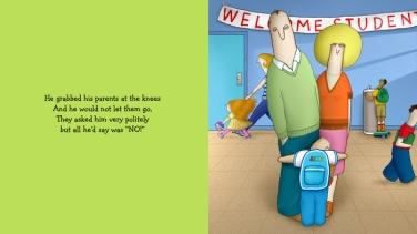 Jake Starts School by