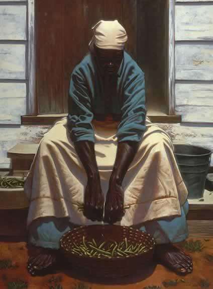 Green Beans by Kadir Nelson
