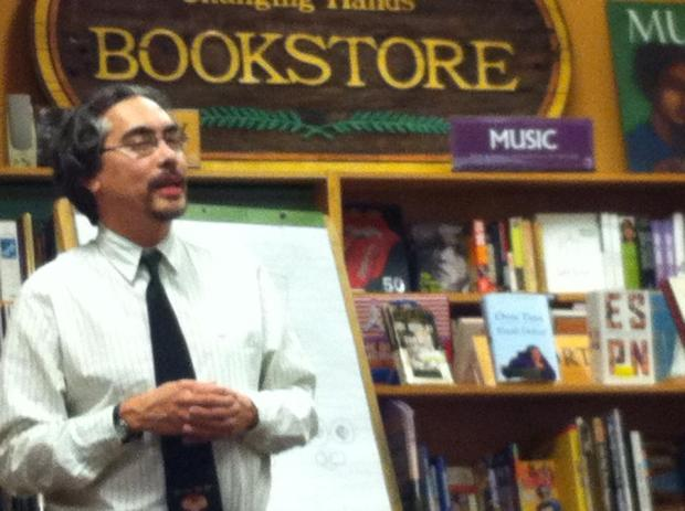 Nick Bruel, author of Bad Kitty