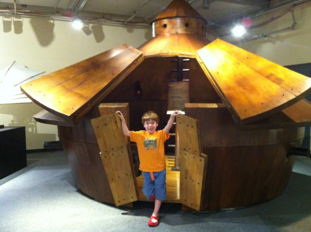 This photo was taken in PA as well. This same wooden tank is on display in Arizona.