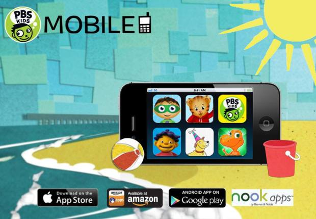 Memorial Day weekend kicks off the unofficial start of summer! Keep kids learning on-the-go with fun, educational apps from PBS KIDS: http://pbskids.org/mobile