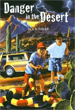 "Danger in the Desert is an Arizona Regional book and a ""battle of the books"" title on display at Barnes and Noble in San Tan Village"