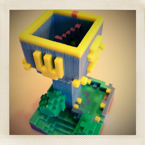 Mineways sculpture lets you print your minecraft creations...all you need is a 3d printer.