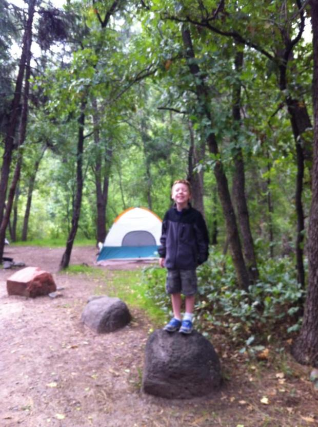 Site 11A, Cave Springs Campground