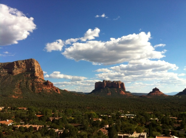 picture taken at Chapel of the Holy Cross on the way into Sedona