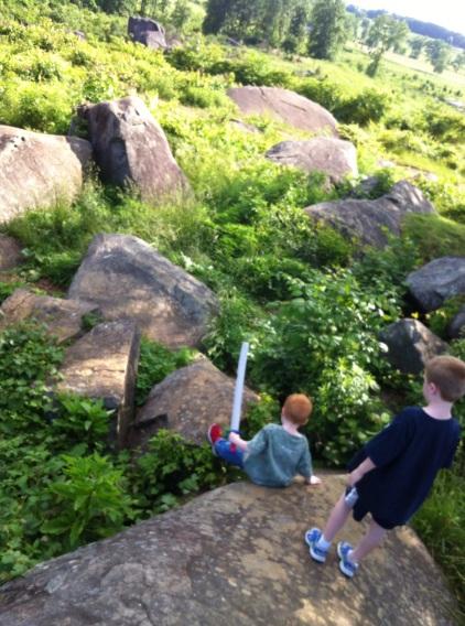 Climbing Devil's Den