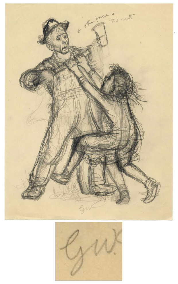 """I see no difference,"" replied Fern, still hanging on to the ax. ""This is the most terrible case of injustice I ever heard of."""